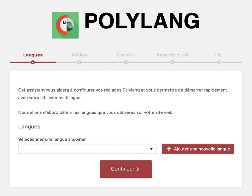 Polylang, plugin WordPress pour site multilingue