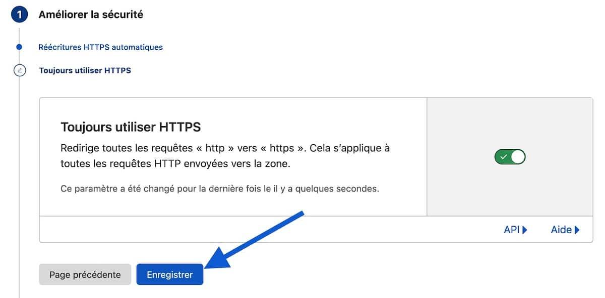 Toujours utiliser HTTPS