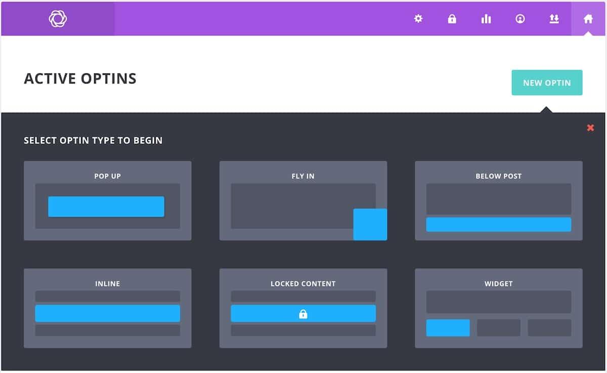 Créer un nouveau formulaire d'opt-in avec Bloom